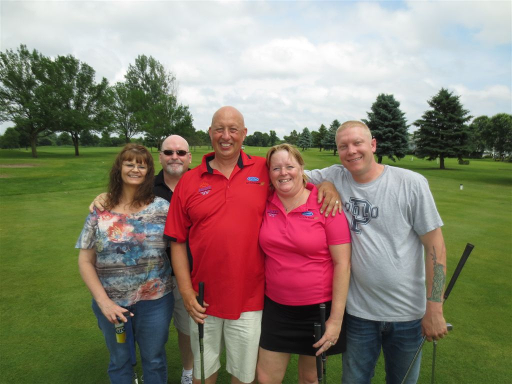 Loren and Pam Sikkink and team from Dean's Heating in Bradford (Isanti), MN