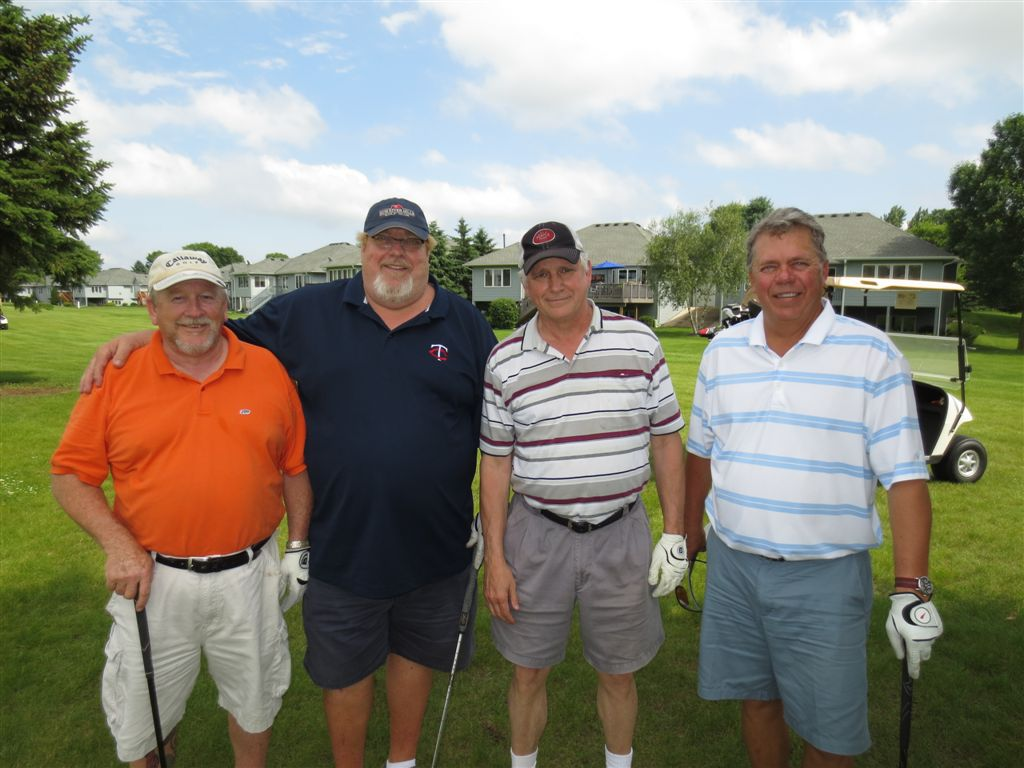 Bob, Dave, Ron , and Gary from Team Shockman.
