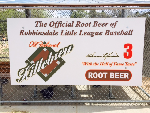 RYBA Killebrew Root Beer Sign