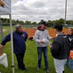 Planning how to play baseball on a blustery day – Saturday May 14.